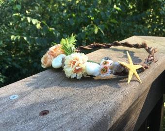 Mermaid Flower Crown Halo