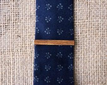 Wooden tie clip, tie clip vintage, tie bar vintage, skinny tie clip, tie clip man, anniversary gift for, tie clips men, wood tie clip, gift