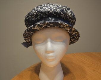 Mr. Michael Exclusive Blue Straw Hat