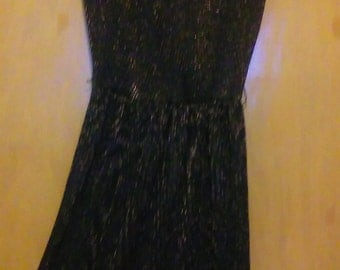 CLEARANCE was 77 now 39. 70s Sheer Marilyn Monroe Style Disco Fab Dress by Cofa's Closet
