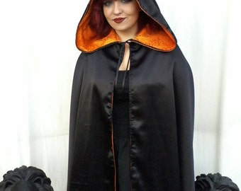 Cloak -Reversible / 2 in 1 ( Witch )