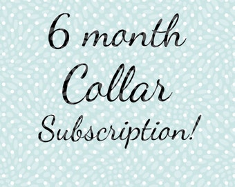 Monthly subscription, dog subscription, dog supplies, collar subscription, surprise dog collar, dog collar, fun dog collar, holiday collar
