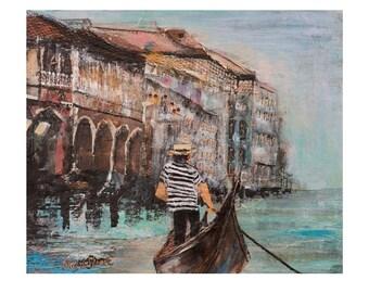 Fine Art Print - Grand Canal - Marina Stuart