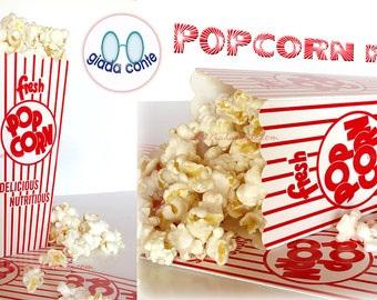 POPCORN PARTY BOX-set 15 pieces