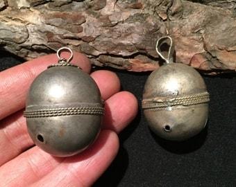 Old Vintage Bell,Bell Pendant-Kuchi Jewellery-Handmade Unusual Kuchi bell,Afghanistan Jewelry,Bell,Jingle Sound Bell....