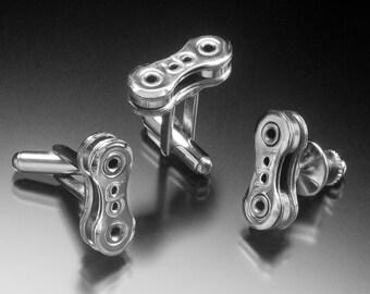 Cufflinks & Tie Tac Set