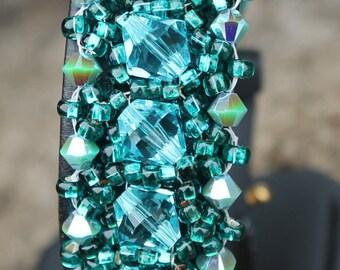 "7"" Turquoise Parisian Light Bracelet"