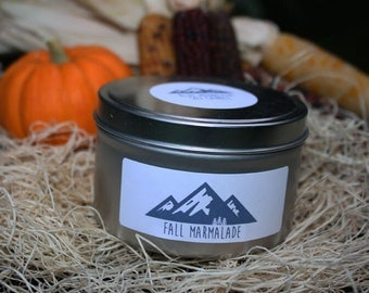 Fall Marmalade - Soy Candle