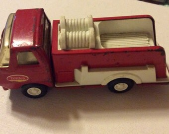 Vintage Tonka Fire Truck Small