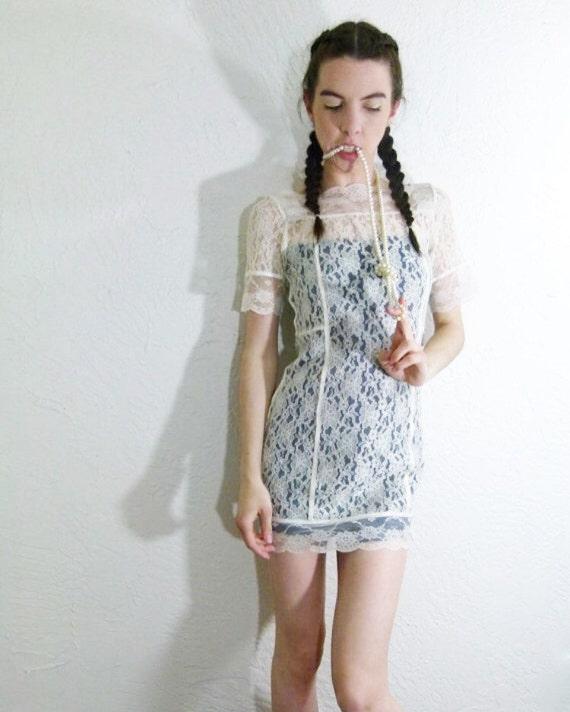 60s Lace Super Mini