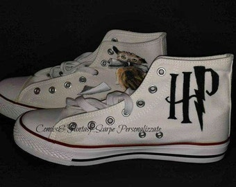 Harry Potter owls Custom Shoes-shoes personalized Harry Potter Owls