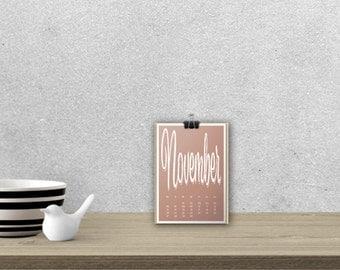 Desk Calendar 'SPUMANTE', planar // A5