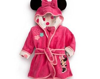 Minnie Mouse Bath Robe