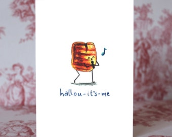 Hallou-it's-me Card