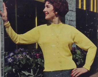 Genuine vintage knitting pattern