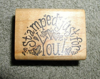 Whipper Snapper Designs Saying Rubber Stamp