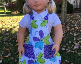 "18"" doll apron"
