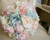 Summer wedding bouquet in...