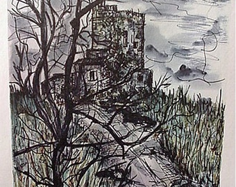 Print, Montee by Enric Artwork Reproduction, Landscape