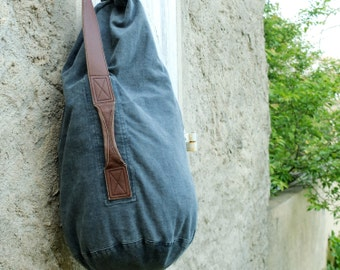 Duffel in Twill Cotton & Canvas
