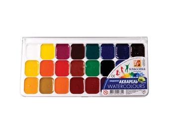 Classic  Watercolor  24 colors set
