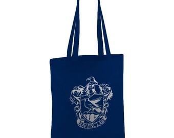 Harry Potter inspired Ravenclaw Navy Blue Tote bag