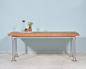 Steel & wood - coffee table HONDSRUG