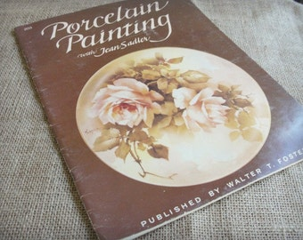 Two Vintage Porcelain Painting Books