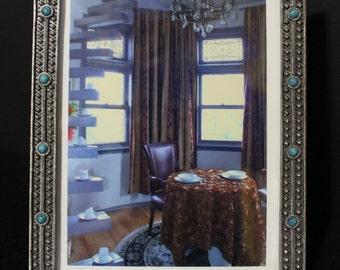 Framed Photo Of Dinner Scene