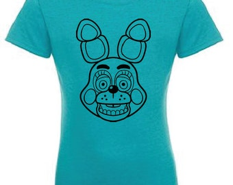 Five Nights at Freddy's Custom T-Shirt Next Level Girls bonnie