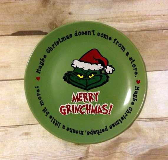 ... grinch movie, santa, maybe christmas is a little bit more heart vinyl