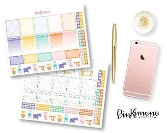 Spring Has Sprung Weekly Planner Sticker Kit | Spring Planner Stickers | Erin Condren Planner Stickers | Any Planner Stickers