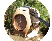 Bear Essentials Womens Handcrafted Wooden Watch