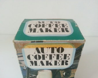 Cafetera vintage portatil / vintage auto coffee maker