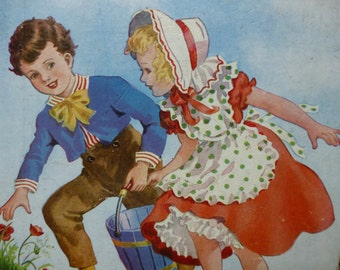 Jack and Jill Nursery Rymes - Juvenile Productions Ltd - 1951