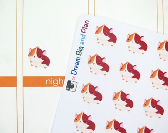 Guinea Pig Planner Stickers! DBP46
