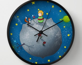 Little Prince Wall Clock / kitchen clock /Little prince Wall Clock