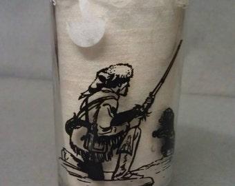 Daniel Boone Glass Tumbler