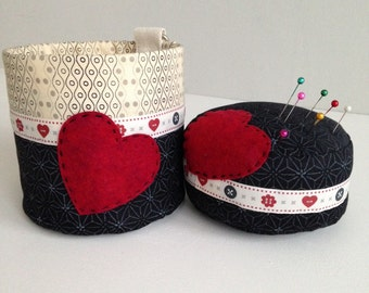 Pin Cushion and Thread Catcher