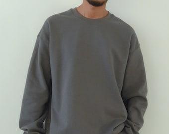 Oversized 50/50 Sweatshirt Dark Grey