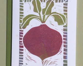 Beet Note Card