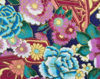 FF93 Hi Fashion (4 HALF yards available) Floral Fabric