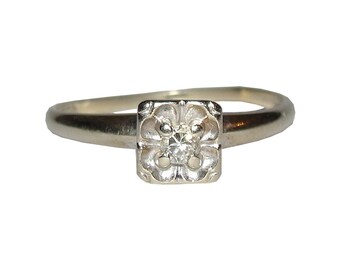 Victorian European Cut Diamond Ring