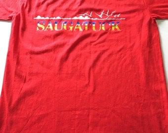 80s Vintage Saugatuck, Michigan T Shirt
