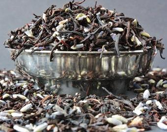 Sweet Kentish Lavender Tea - Lavender Tea - Loose Leaf Black Tea - Loose Leaf Tea - Tea - Tea Gift