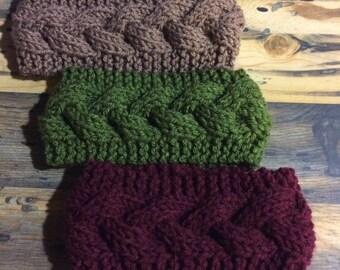 Women's Cable Knit Headband Ear Warmer