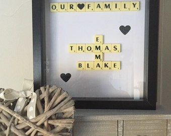 Scrabble Picture frame
