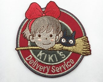 kiki delivery service patch Hayao miyazaki movie role patch cute Embroidery patches patch Embroidered patch iron on patch sew on patch A137