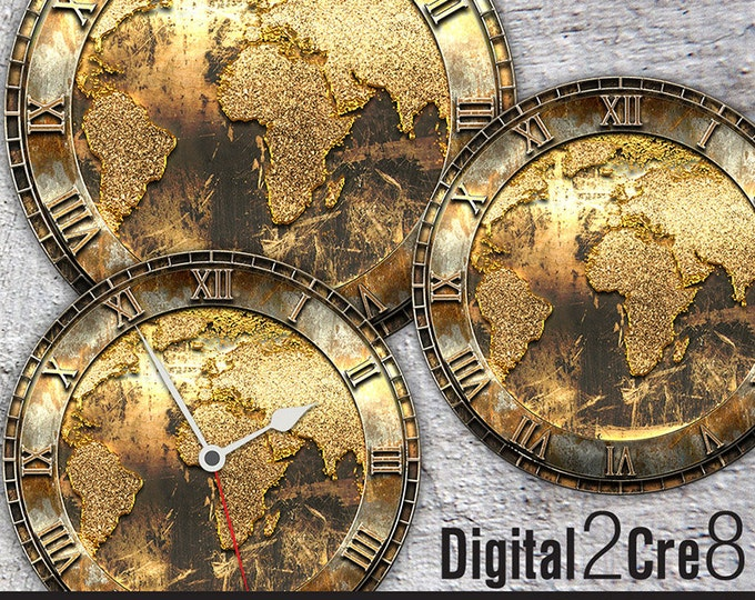 CLOCK faces - Digital2Cre8