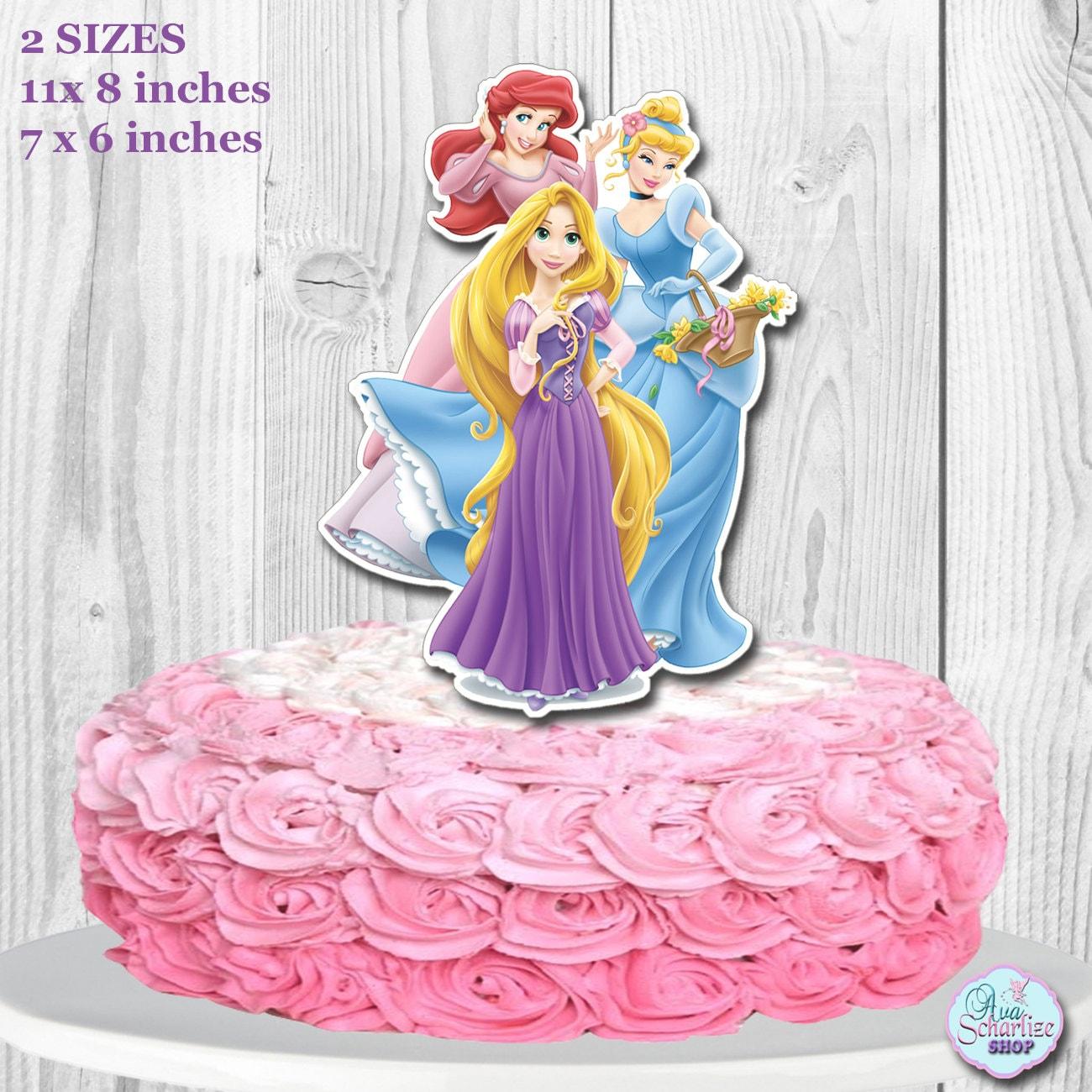 Cake Topper Disney Princess : Disney Princess Cake Topper Disney Princess Centerpiece